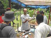 ram pump & hydro electricity workshop